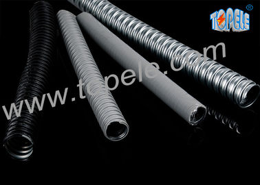 Water Proof Liquidtight Conduit Tube PVC - Coated / Jacketed Steel
