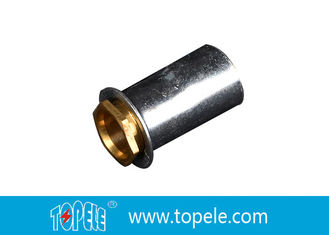 China TOPELE 25mm/32mm BS elektrisches Rohr galvanisierte Koppelung mit Messingkoppler fournisseur